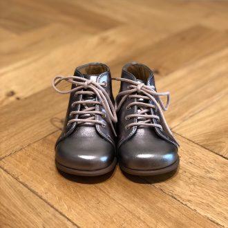 POM D'API Primo Cuir Etain chaussure bébé