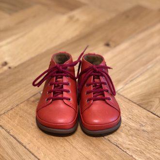POM D'API Newflex Basic cuir Rouge chaussure bébé