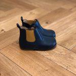 CLOTAIRE ZEUS zip boots CUIR BLEU