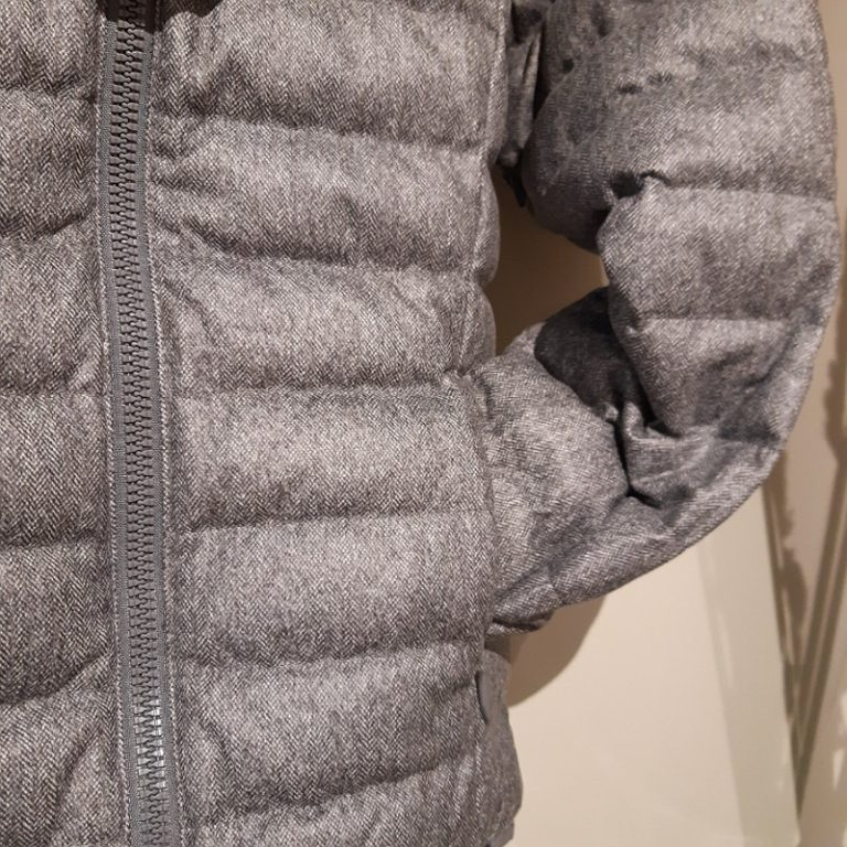 JOTT MANTEAU COUPE HUGO CHEVRON GRIS manteau garcon