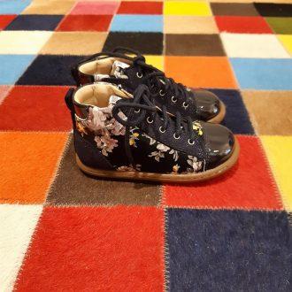 POM D'API ATHLET'S tip top multi marine chaussure premiers pas montante