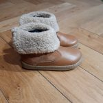 SHOOPOM BOUBA FUR BOOTS CAMEL BOTTINE