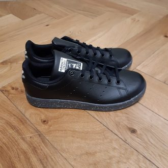 ADIDAS STAN SMITH JUNIOR NOIR PAILLETTE BASKET