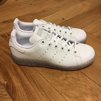 ADIDAS STAN SMITH JUNIOR BLANCHE PAILLETTE BASKET