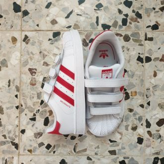 ADIDAS SUPERSTAR SCARLET BASKET MIXTE