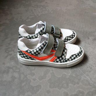 RONDINELLA 11726 KAKI chaussure basse velcros