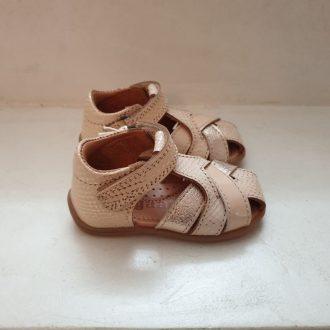BISGAARD 71249 sandale premiers pas or nude