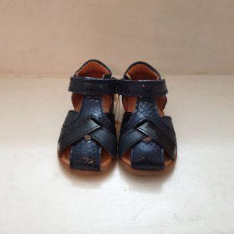 BISGAARD 71249 sandale premiers pas bleu marine