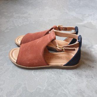 BISGAARD 71941 1905 sandale cuir nubuck fille