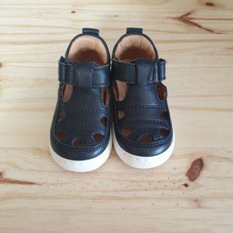 BISGAARD sandale semi ouvert premiers pas bleu marine