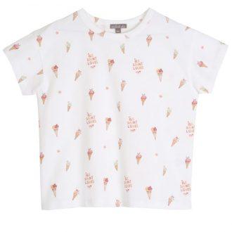 Emile et Ida Q077 T.shirt fille Ile St louis