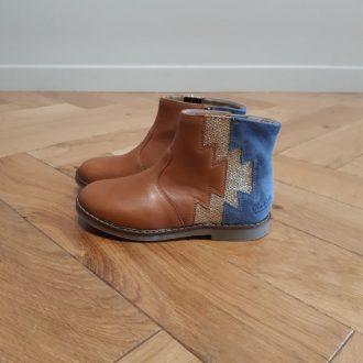 POM D'API TRIP ELASTEK CAMEL boots fille
