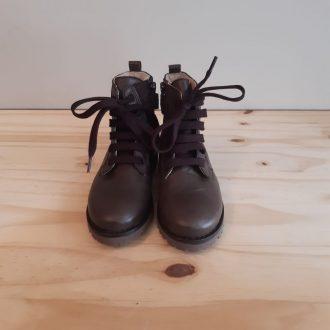 BEBERLIS boots lacet marron 21665