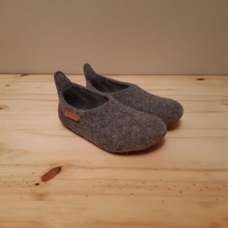 BISGAARD CHAUSSON BASIC WOOL GREY