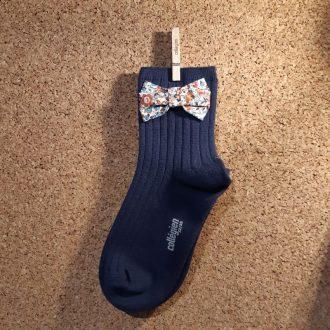 COLLEGIEN chaussette courte béatrice nuit étoilée