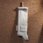 COLLEGIEN chaussette haute maille ajourée Juliette doux agneau