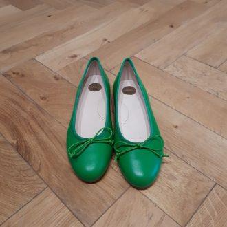 BEBERLIS CHAUSSURE ballerine 17373 vert yerba