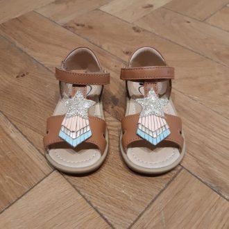 SHOOPOM tity kid camel sandale premier pas