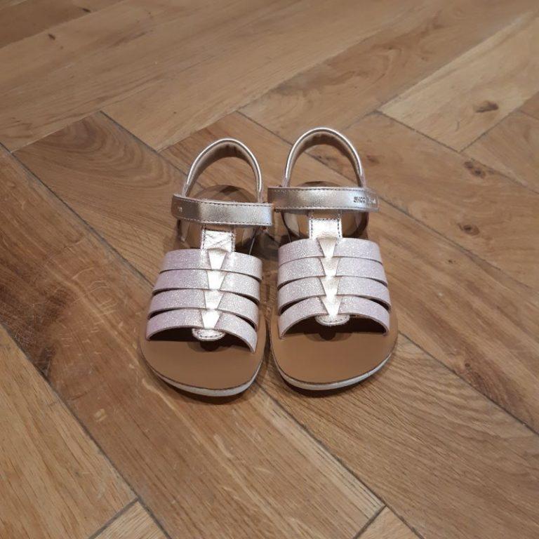 SHOOPOM sandale fille GOA SPART cooper pink