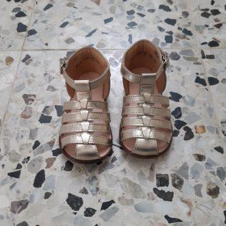 CLOTAIRE ZEUS gorgo platine sandale premiers pas